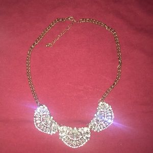 forever 21 sparkly necklace